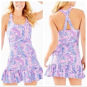 Lilly Pulitzer Ace Tennis Dress Racerback Meryl